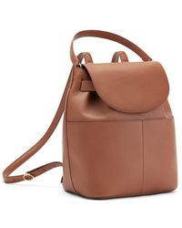 Cuyana Leather Backpack - Brown