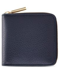 Cuyana Small Classic Zip Around Wallet - Blue