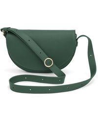 Cuyana Half-moon Mini Bag - Green