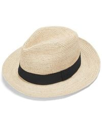 Cuyana Folding Panama Hat - Natural