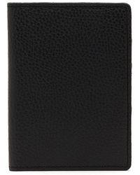Cuyana Slim Leather Passport Case - Black