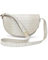 Cuyana Half-moon Mini Bag - White