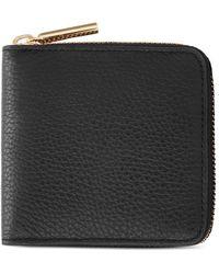 Cuyana Small Classic Zip Around Wallet - Black