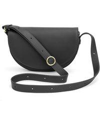 Cuyana Half-moon Mini Bag - Black