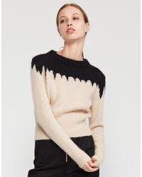 Cynthia Rowley Snowbird Intarsia Knit Sweater - Multicolor