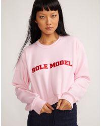 Cynthia Rowley - Role Model Sweatshirt - Lyst