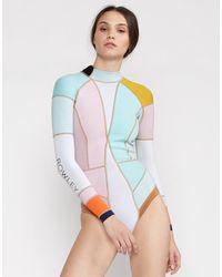 Cynthia Rowley Dylon Colorblock Wetsuit - Multicolor