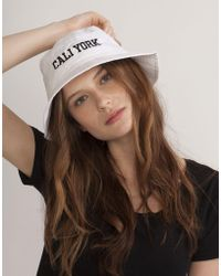 Cynthia Rowley | Caliyork Bucket Hat | Lyst