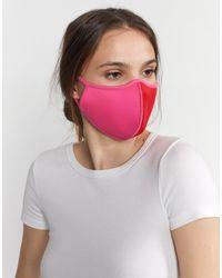 Cynthia Rowley Colorblock Mask - Multicolor