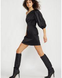 Cynthia Rowley - Montrose Stretch Satin One Sleeve Dress - Lyst