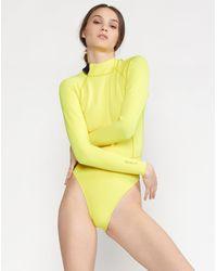 Cynthia Rowley Victoria Wetsuit - Yellow