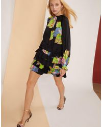 Cynthia Rowley - Amalfi Floral Leaf Mini Dress - Lyst