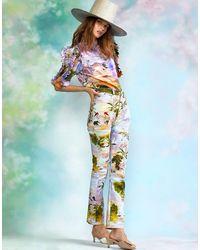 Cynthia Rowley Gili Printed Jean - Blue
