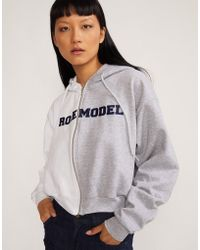 Cynthia Rowley - Role Model Hoodie Sweatshirt - Lyst