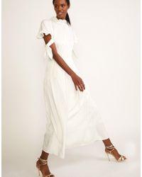 Cynthia Rowley - Talia Tie Sleeve Dress - Lyst
