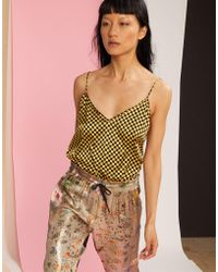 8678d5f36cddf4 Lyst - Women s Cynthia Rowley Sleeveless and tank tops On Sale