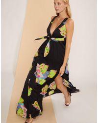 Cynthia Rowley - Aurora Floral Leaf Maxi Dress - Lyst