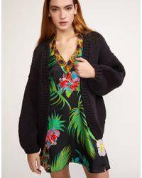 Cynthia Rowley - Wallace Chunky Knit Sweater - Lyst