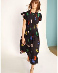 Cynthia Rowley - Nairobi Kaftan Dress - Lyst