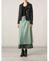 Jean Paul Gaultier Layered Polka Dot Skirt - Lyst