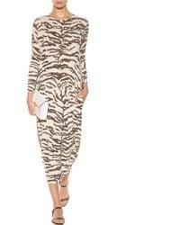 Stella McCartney Printed Sweater Dress - Lyst