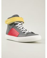 Pierre Hardy Hitop Trainers - Lyst