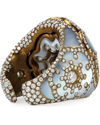 Arunashi - Mother-of-pearl And Diamond Dome Ring - Lyst