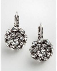 Kate Spade Putting On The Ritz Drop Earrings - Lyst
