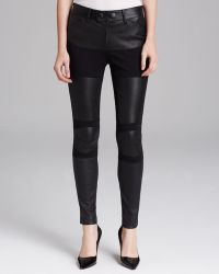 Catherine Malandrino Trousers Dylan Leather - Black