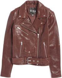 VEDA | Jayne Leather Jacket | Lyst