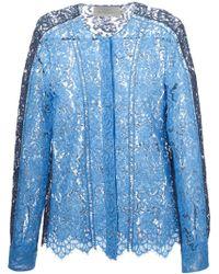 Preen Lace Tonal Shirt - Lyst