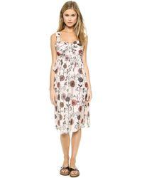 Jill Stuart Adele Floral Dress - Sand - Lyst