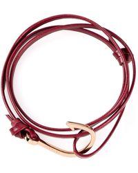 Miansai Red Hook Bracelet - Lyst