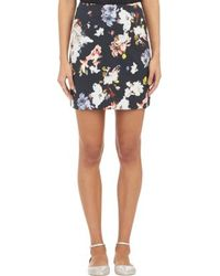 Erdem Mari Mini Skirt - Lyst