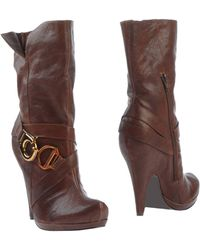Jessica Simpson Ankle Boots - Brown