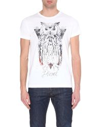 Diesel T-Owly Cotton Printed T-Shirt - For Men - Lyst