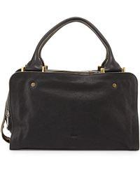 Chloé Dalston Triple-zip Leather Satchel Bag - Lyst