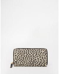 Becksöndergaard - Leather Leopard Print Purse - Lyst