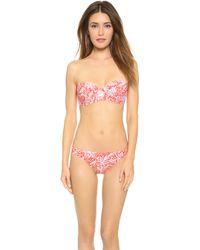 Tory Burch Emmarentia Underwire Bikini Top - Melon Emmarentia - Lyst