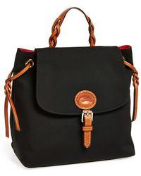 Dooney & Bourke Nylon Flap Backpack - Lyst