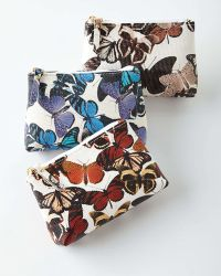 Graphic Image - Personalized Butterfly-Print Cosmetic Case - Lyst