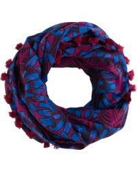 J.Crew | Mixed Print Infinity Scarf | Lyst