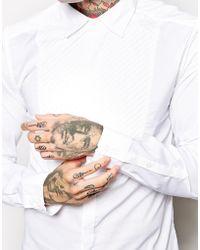 Diesel White Shirt - Lyst