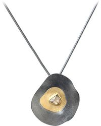 Todd Reed Raw Diamond Pendant Necklace - Lyst