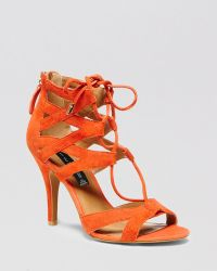 Steven by Steve Madden Open Toe Sandals - Gingir High Heel - Lyst