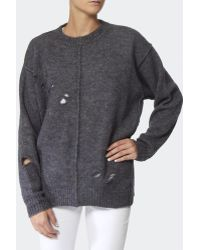 Isabel Marant Rohan Oversized Pullover - Lyst