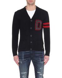 Diesel K-Folita Knitted Cardigan - For Men black - Lyst