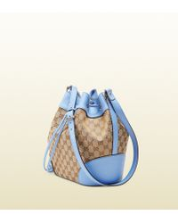Gucci Original Gg Canvas Bucket Bag - Lyst