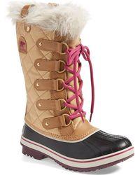 Sorel 'Tofino' Boot brown - Lyst