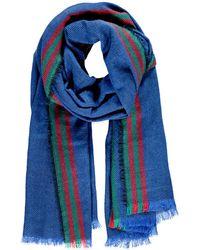 Forever 21 - Frayed Stripe-patterned Scarf - Lyst